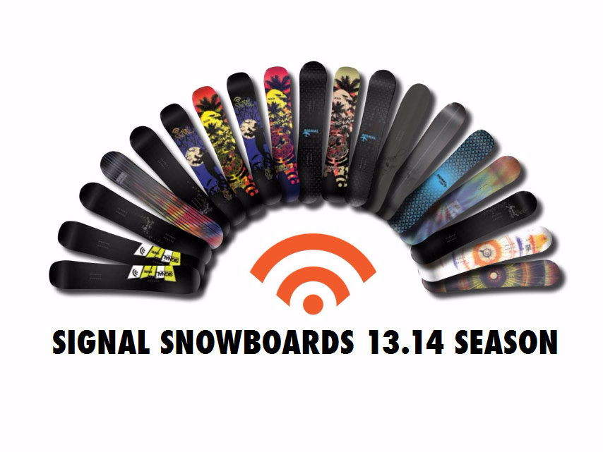 signal snowboards 2014